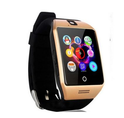 q18 smartwatch gold PennySays