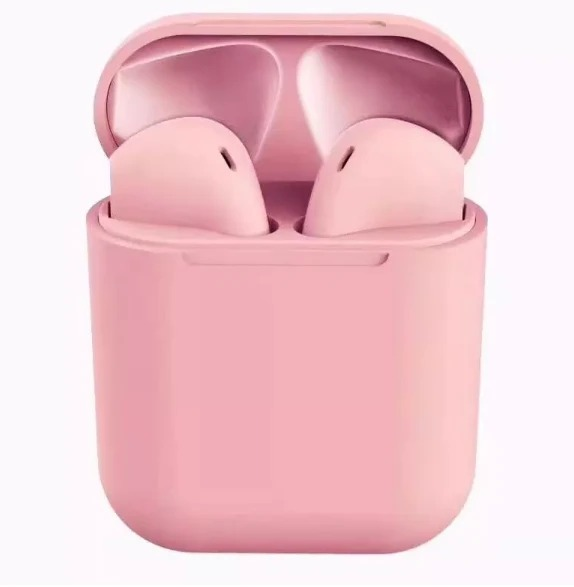 pink colored wireless pods PennySays